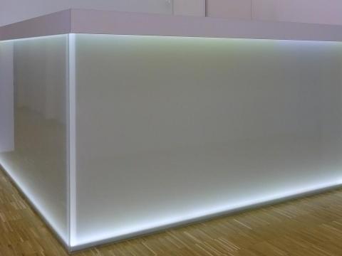 Glastheke-Beleuchtet