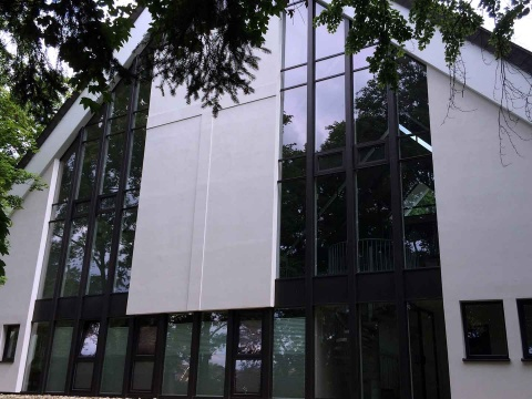 Glasfassaden-Sanierung