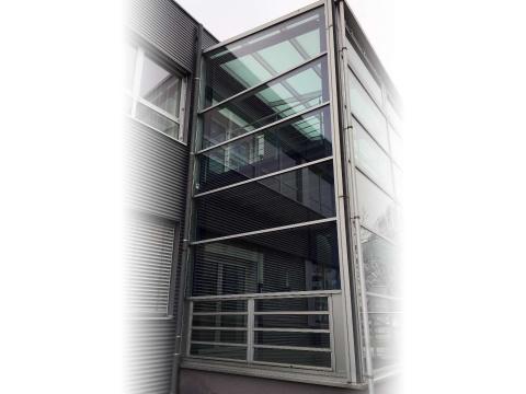 Glasfassadenverglasung